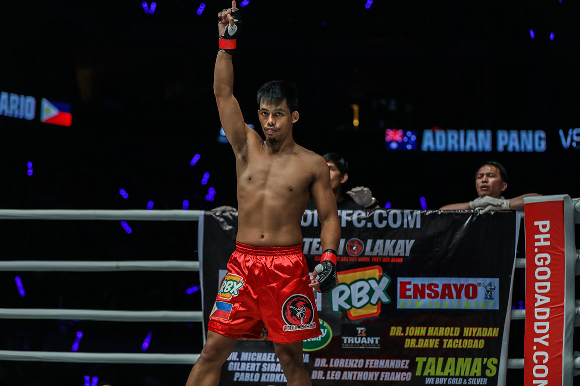 Tiebreaker Times Honorio Banario found hope in midst of adversity Mixed Martial Arts News ONE Championship  Team Lakay ONE: Beyond the Horizon Honorio Banario