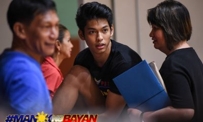 Tiebreaker Times Straight from the airport, Ricci Rivero heads to Gilas practice Basketball Gilas Pilipinas News  Ricci Rivero 2018 Asian Games-Basketball 2018 Asian Games