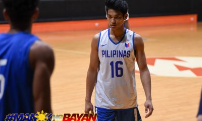 Tiebreaker Times Despite being cut, Ricci Rivero receives high praise from Yeng Guiao Basketball Gilas Pilipinas News  Yeng Guiao Ricci Rivero 2018 Asian Games-Basketball 2018 Asian Games