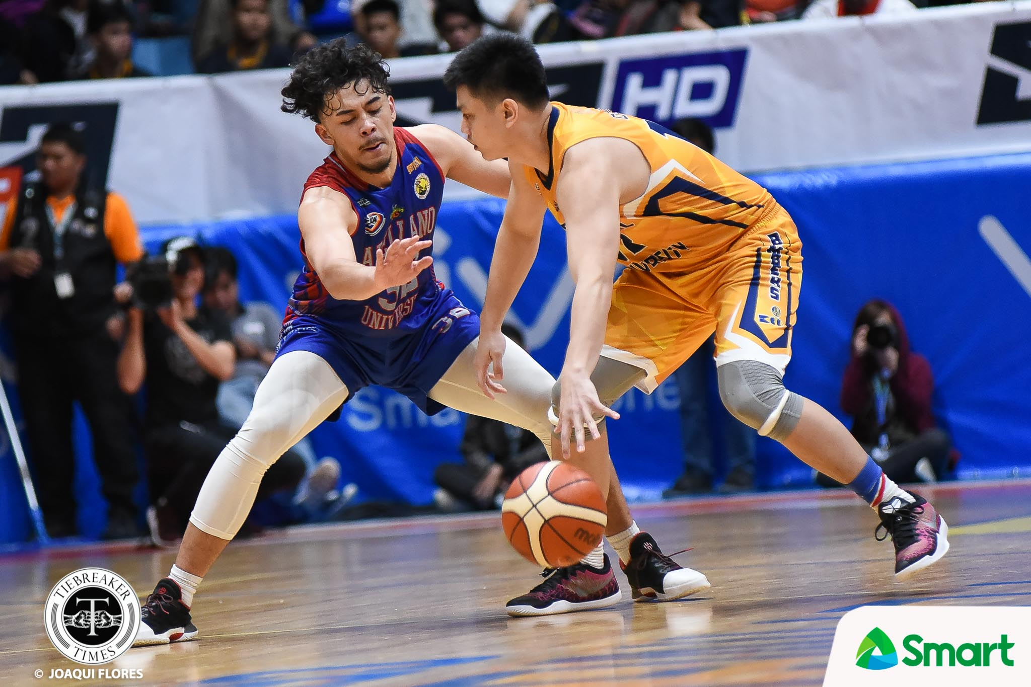 Tiebreaker Times Maui Sera Josef notches career-high as Arellano evens slate AU Basketball JRU NCAA News  Vergel Meneses NCAA Season 94 Seniors Basketball NCAA Season 94 Michael Canete Maui Sera Josef Levi dela Cruz JRU Seniors Basketball Jerry Codinera Jed Mendoza Ian Alban Arellano Seniors Basketball