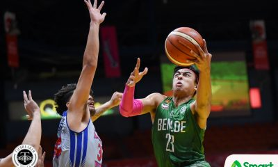 Tiebreaker Times Even without Clement Leutcheu, Saint Benilde stifles Arellano for 5th win AU Basketball CSB NCAA News  TY Tang Rence Alcoriza Prince Carlos NCAA Season 94 Seniors Basketball NCAA Season 94 Maui Sera Josef Justin Gutang Jerry Condinera Benilde Seniors Basketball Arellano Seniors Basketball
