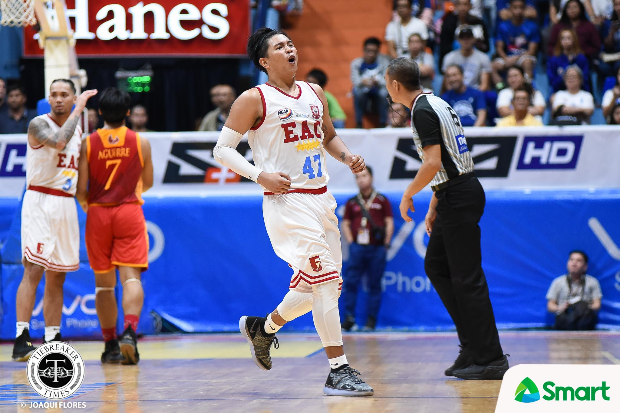 Tiebreaker Times Back-to-back for EAC as Mapua continues slide Basketball EAC MIT NCAA News  Warren Bonifacio Noah Lugo NCAA Season 94 Seniors Basketball NCAA Season 94 Mapua Seniors Basketball Juju Bautista Jerome Garcia Jan Natividdad Hamadou Laminou EAC Seniors Basketball CJ Cadua Atoy Co Ariel Sison