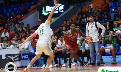 Tiebreaker Times Lyceum runs past Benilde for 7th straight win Basketball CSB LPU NCAA News  Yankie Haruna TY Tang Topex Robinson NCAA Season 94 Seniors Basketball NCAA Season 94 MJ Ayaay Mike Nzeusseu Lyceum Seniors Basketball Justin Gutang Jaycee Marcelino Edward Dixon CJ Perez Benilde Seniors Basketball