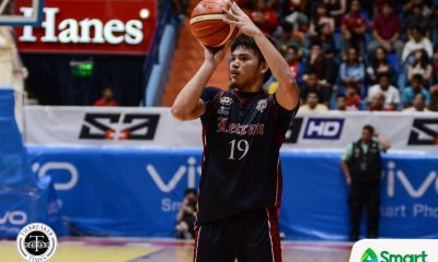 Tiebreaker Times Bong Quinto's triple-double against Mapua leads Letran back to win column Basketball CSJL MIT NCAA News  NCAA Season 94 Seniors Basketball NCAA Season 94 Mapua Seniors Basketball Letran Seniors Basketball JP Calvo Jeff Napa Atoy Co