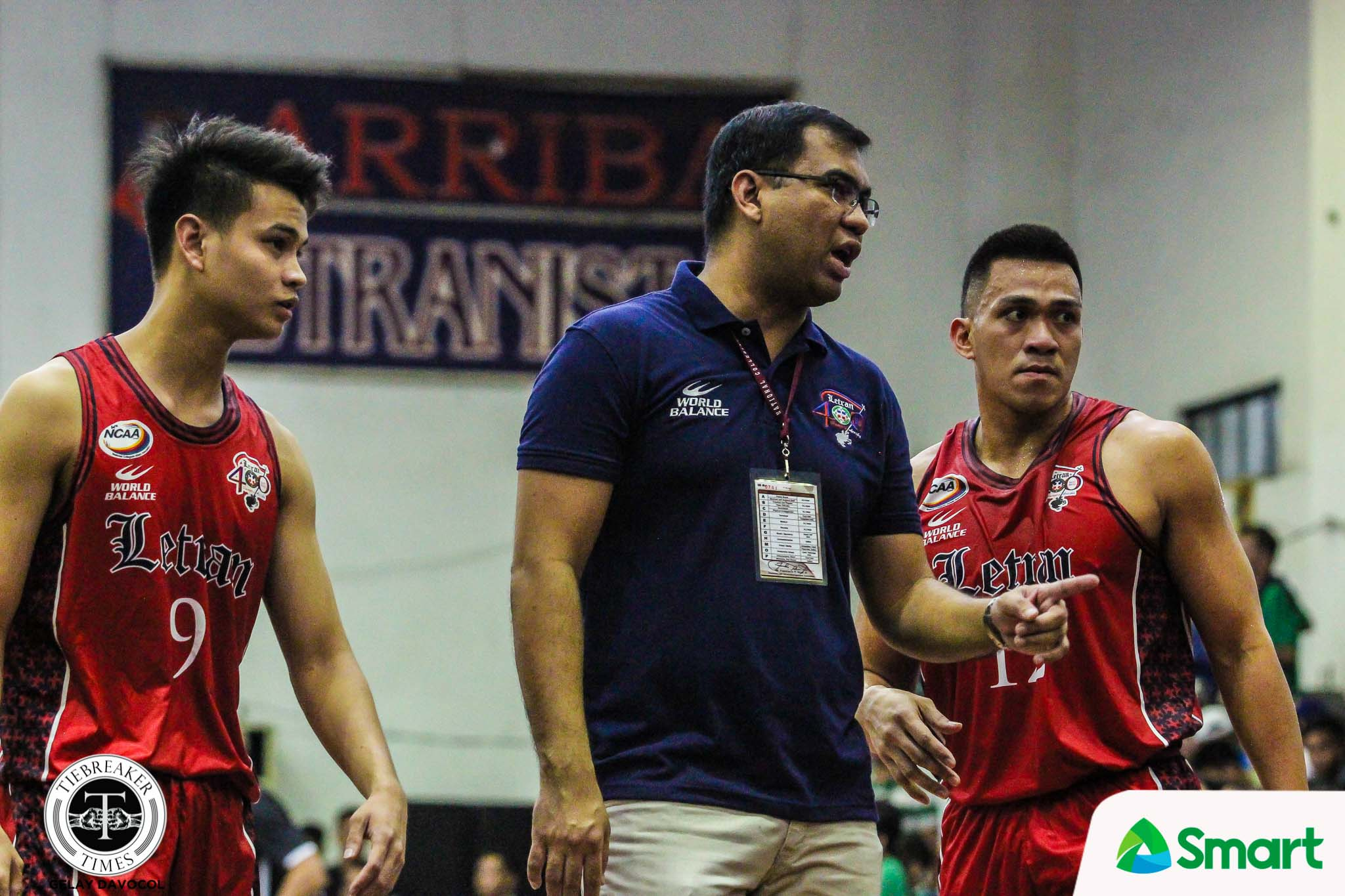 Tiebreaker Times Jeff Napa opens Letran's walls Basketball CSJL NCAA News  NCAA Season 94 Seniors Basketball NCAA Season 94 Letran Seniors Basketball Jeff Napa