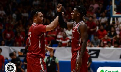 Tiebreaker Times Reymar Caduyac prevents CSB hijack as Lyceum clinches twice-to-beat Basketball CSB LPU NCAA News  TY Tang Topex Robinson Reymar Caduyac NCAA Season 94 Seniors Basketball NCAA Season 94 Mike Nzeusseu Lyceum Seniors Basketball Justin Gutang Clement Leutcheu CJ Perez Benilde Seniors Basketball