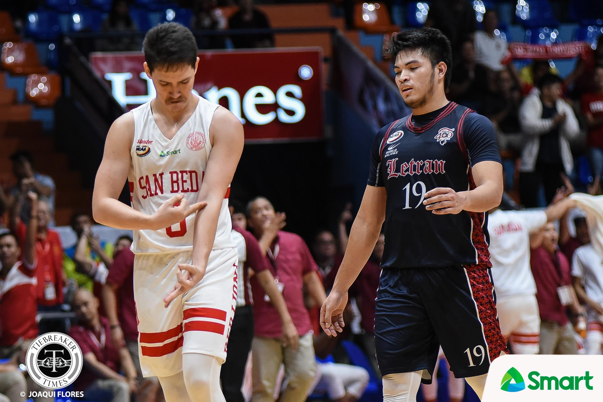 Tiebreaker Times Robert Bolick showcases his inner-Scottie Thompson Basketball NCAA News SBC  San Beda Seniors Basketball Robert Bolick NCAA Season 94 Seniors Basketball NCAA Season 94