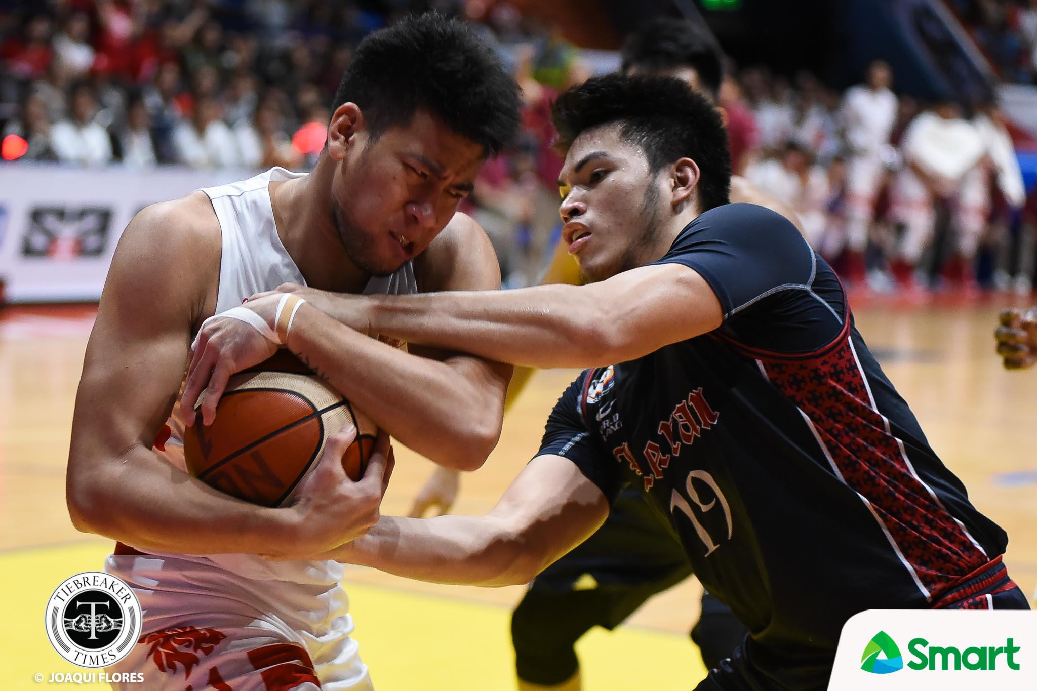 Tiebreaker Times Tough pill to swallow for Bong Quinto: 'Di lang namin na-grab yung last play' Basketball CSJL NCAA News  NCAA Season 94 Seniors Basketball NCAA Season 94 Letran Seniors Basketball Bong Quinto