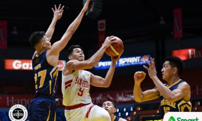 Tiebreaker Times San Beda hands JRU 37-point loss, worst rout of season Basketball JRU NCAA News SBC  Vergel Meneses San Beda Seniors Basketball NCAA Season 94 Seniors Basketball NCAA Season 94 JRU Seniors Basketball Calvin Oftana Boyet Fernandez AC Soberano