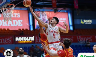 Tiebreaker Times Javee Mocon snaps out of funk as San Beda cruises past Mapua Basketball MIT NCAA News SBC  Warren Bonifacio San Beda Seniors Basketball Robert Bolick NCAA Season 94 Seniors Basketball NCAA Season 94 Mapua Seniors Basketball Javee Mocon Donald Tankoua Cedric Pelayo Boyet Fernandez Atoy Co