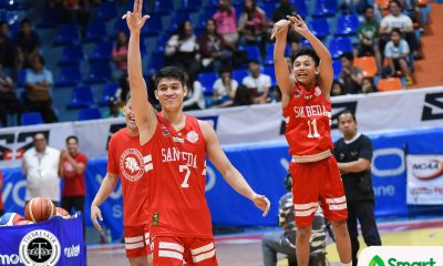 Tiebreaker Times San Beda blitzes Shooting Stars Challenge Basketball NCAA News SBC  San Beda Seniors Basketball San Beda Juniors Basketball Rome dela Rosa Penny Estacio NCAA Season 94 Seniors Basketball NCAA Season 94 All-Star Game NCAA Season 94 Calvin Oftana