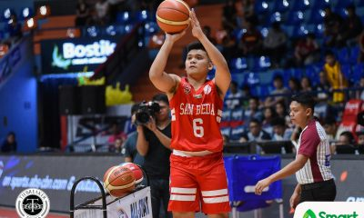 Tiebreaker Times AC Soberano becomes two-time 3-point Shootout champion Basketball NCAA News SBC  San Beda Seniors Basketball NCAA Season 94 Seniors Basketball NCAA Season 94 All-Star Game NCAA Season 94 AC Soberano