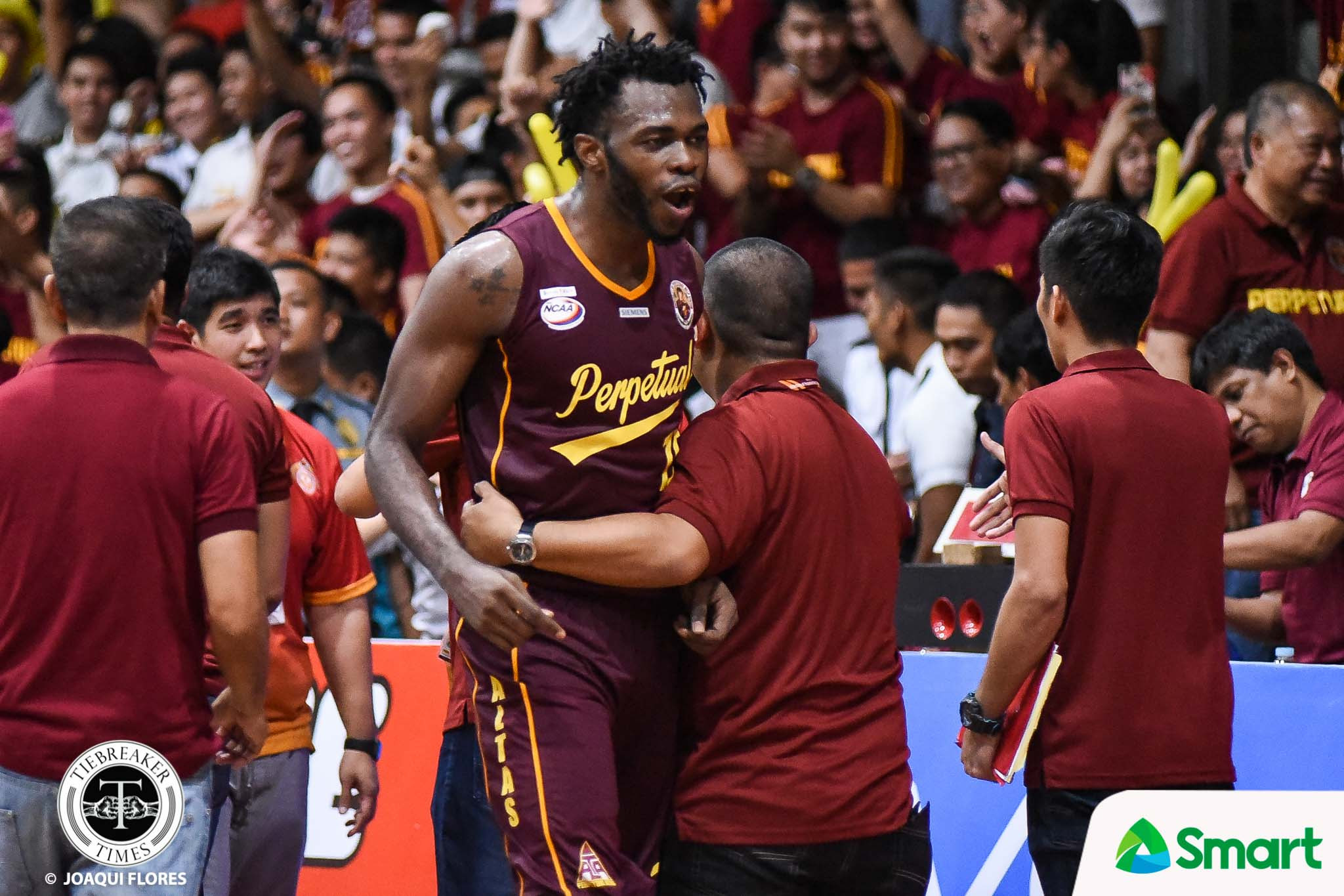 Tiebreaker Times Chooks-to-Go Player of the Week Prince Eze carries Perpetual on his shoulders Basketball NCAA News UPHSD  Prince Eze NCAA Season 94 Seniors Basketball NCAA Season 94 NCAA Player of the Week