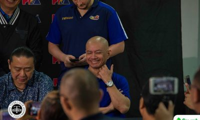 Tiebreaker Times Yeng Guiao makes proposal to SBP: Create database for game plans and reports Basketball Gilas Pilipinas News  Yeng Guiao Ryan Gregorio Gilas Elite 2018 Asian Games-Basketball 2018 Asian Games