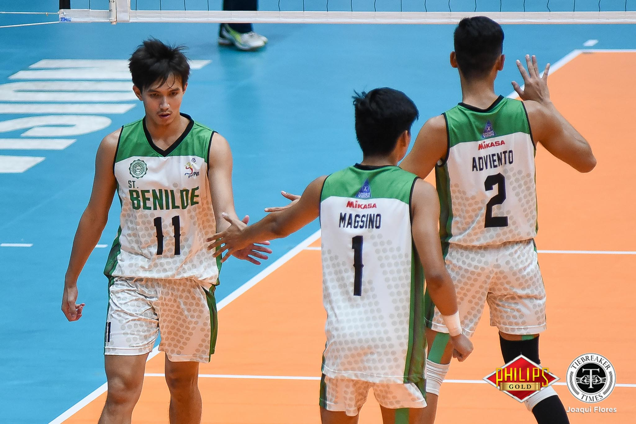 Tiebreaker Times Saint Benilde books Finals ticket at EAC's expense CSB EAC NCAA News Volleyball  Vince Abrot Saint Benilde Men's Volleyball Rod Palmero NCAA Season 94 Men's Volleyball NCAA Season 94 Kevin Magsino Joshua Ramilo Joshua Miña Francis Basilan EAC Men's Volleyball Arnold Laniog Adrian Dy