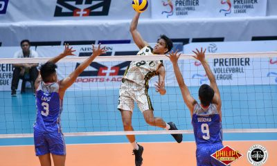Tiebreaker Times FEU zooms to third win at Arellano's expense AU FEU News PVL Volleyball  Sherwin Meneses Mark Calado Kevin Liberato JP Bugaoan Joshua Barrica FEU Men's Volleyball Christian dela Paz Arellano Men's Volleyball 2018 PVL Season 2018 PVL Men's Collegiate Conference
