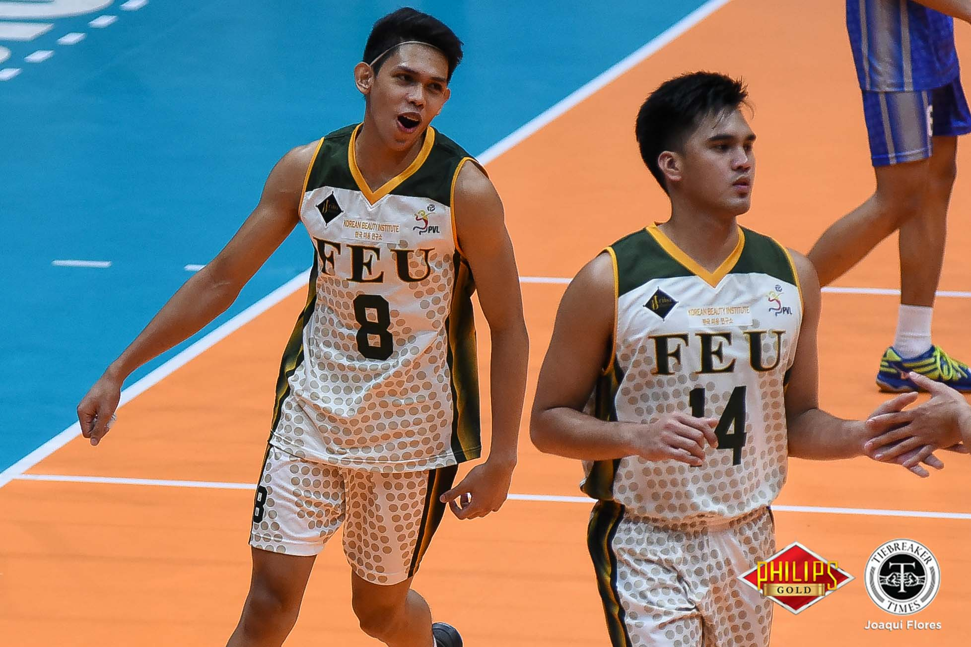 Tiebreaker Times Tamaraws reassert mastery of Fighting Maroons for playoff berth FEU News PVL UP Volleyball  UP Men's Volleyball RJ Paler Rey Diaz Owen Suarez Nicolo Consuelo Mac Millete JP Bugaoan Joshua Barrica Hans Chuacuco FEU Men's Volleyball 2018 PVL Season 2018 PVL Men's Collegiate Conference