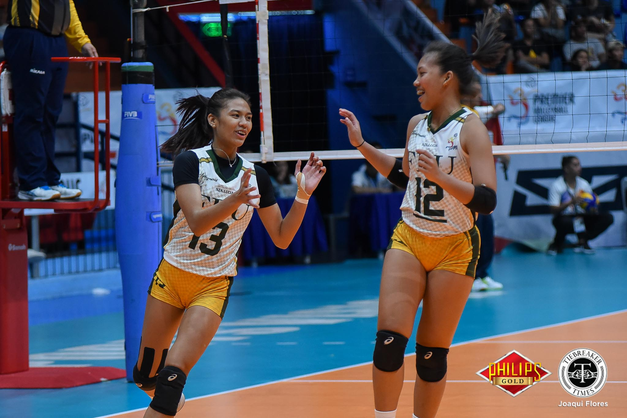 Tiebreaker Times Five-set FEU escapes tough Perpetual FEU News PVL UPHSD Volleyball  Perpetual Women's Volleyball Michael Carino Kyle Negrito Jeanette Villareal George Pascua FEU Women's Volleyball Cindy Imbo Celine Domingo Buding Duremdes 2018 PVL Women's Collegiate Conference 2018 PVL Season