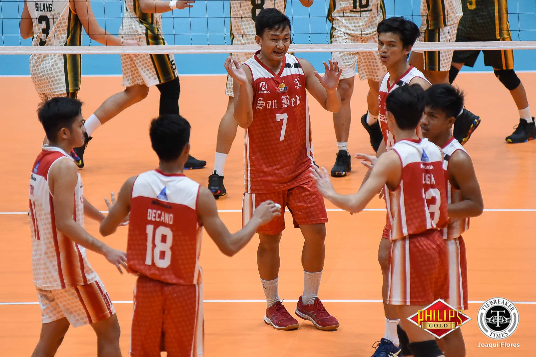 Tiebreaker Times San Beda Red Spikers step up as PNP backs out of Open Conference News SBC Spikers' Turf Volleyball  San Beda Men's Volleyball PNP Patrollers 2019 Spikers Turf Season 2019 Spikers Turf Open Conference