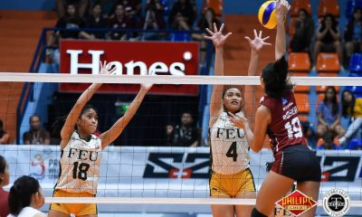 Tiebreaker Times Lady Tamaraws dedicate UP win to absent veterans FEU News PVL Volleyball  Heather Guino-o FEU Women's Volleyball 2018 PVL Women's Collegiate Conference 2018 PVL Season