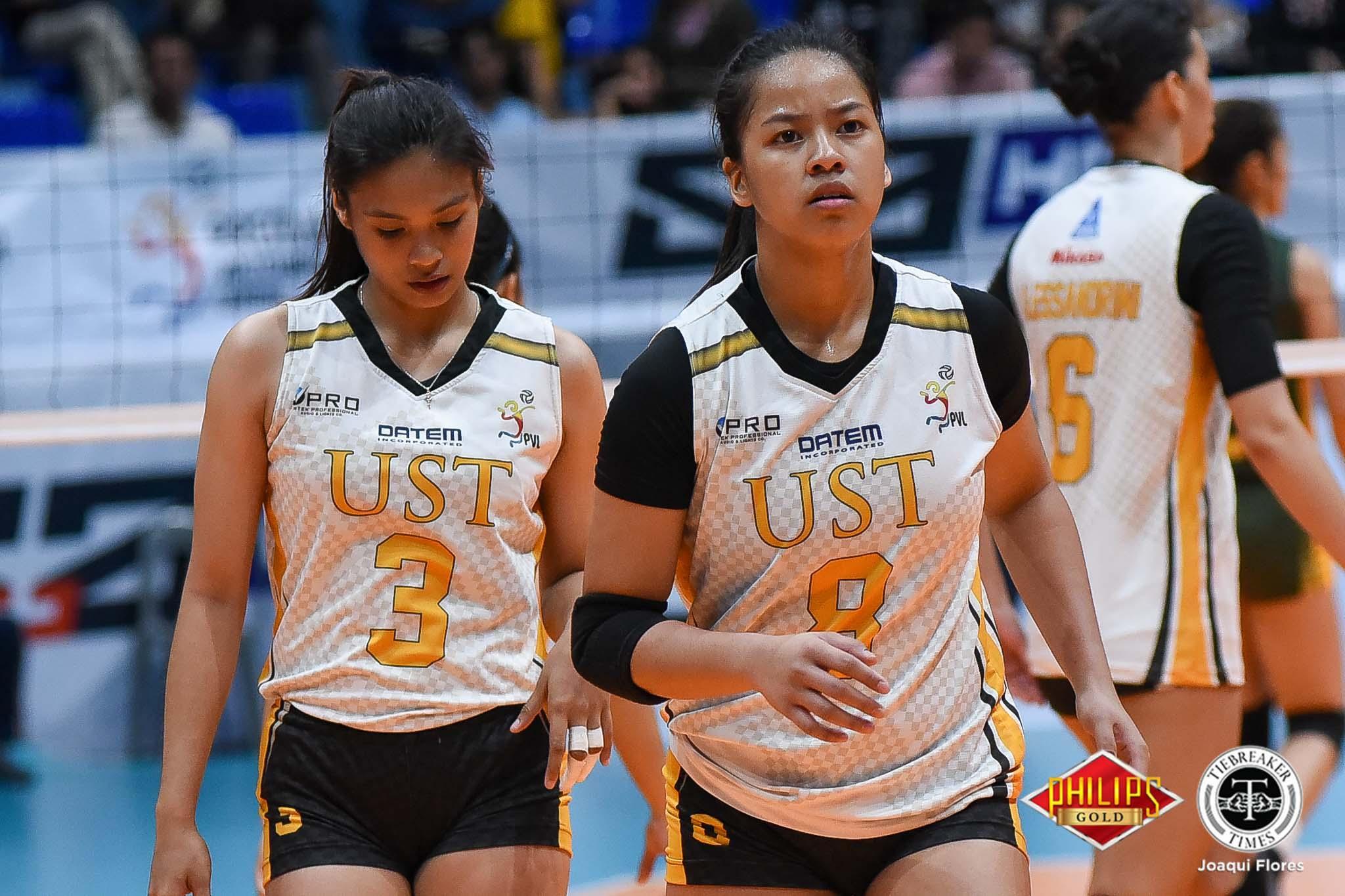 Tiebreaker Times Ej Laure striving for Season 81 return News PVL UST Volleyball  UST Women's Volleyball EJ Laure 2018 PVL Women's Collegiate Conference 2018 PVL Season