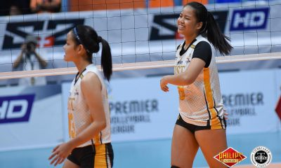 Tiebreaker Times UST slips past FEU anew, steps closer to Finals FEU News PVL UST Volleyball  UST Women's Volleyball Rizalinda Martin Milena Alessandrini Jerrili Malabanan Ian Fernandez George Pascua FEU Women's Volleyball Eya Laure Celine Domingo Alina Bicar 2018 PVL Women's Collegiate Conference 2018 PVL Season
