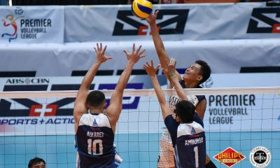 Tiebreaker Times Bryan Bagunas-less Bulldogs outlast Soaring Falcons to regain winning form AdU News NU PVL Volleyball  Pao Pablico NU Men's Volleyball Nico Almendras Madz Gampong Kim Dayandante Domeng custodio Dante Alinsunurin Adamson Men's Volleyball 2018 PVL Season 2018 PVL Men's Collegiate Conference