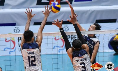Tiebreaker Times Adamson gains crucial edge in race to Final Four over UP AdU News PVL UP Volleyball  UP Men's Volleyball Pao Pablico Matthew Gohoc Mark Millete Leonard Amburgo Leo Miranda Kapen Pinar Hans Chuacuco Domingo Custodio Adamson Men's Volleyball 2018 PVL Season 2018 PVL Men's Collegiate Conference