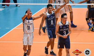 Tiebreaker Times Pao Pablico hopes to translate MVP nod into UAAP success AdU News PVL Volleyball  Pao Pablico Adamson Men's Volleyball 2018 PVL Season 2018 PVL Men's Collegiate Conference