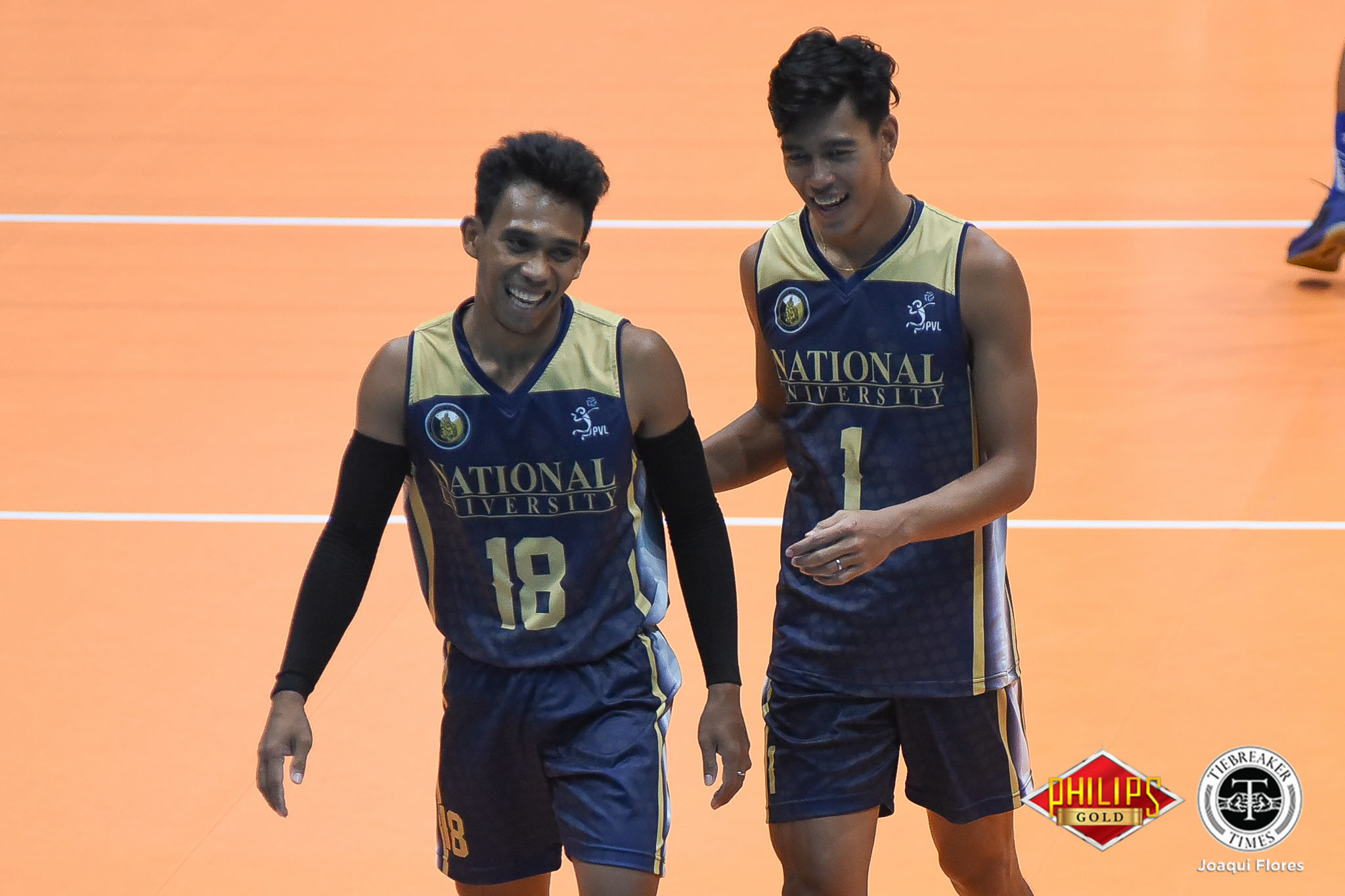 Tiebreaker Times Bulldogs outmuscle Tiger Spikers, inch closer to crown News NU PVL UST Volleyball  UST Men's Volleyball Ricky Marcos Odjie Mamon NU Men's Volleyball Mark Calado MAnuel Medina Madz Gampong Kim Dayandante FEU Men's Volleyball Dante Alinsunurin Bryan Bagunas Adamson Men's Volleyball 2018 PVL Men's Collegiate Conference