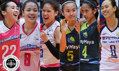 Tiebreaker Times Grethcel Soltones, Aiza Maizo-Pontillas headline new additions for AVC Cup News Volleyball  Risa Sato Philippine Women's National Volleyball Team Mylene Paat Mika Reyes Melissa Gohing Maika Ortiz Jia Morado Jema Galanza Jasmine Nabor Grethcel Soltones Denden Lazaro Cha Cruz Alyssa Valdez Aiza Maizo-Pontillas Aby Marano 2018 AVC Cup for Women