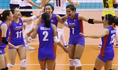 Tiebreaker Times Philippines falls to Korea, drops to 9th place game News Volleyball  Yerim Go South Korea (Volleyball) Shaq delos Santos Philippine Women's National Volleyball Team Jia Morado Ha Hyejin Denden Lazaro Cha Cruz Alyssa Valdez Aiza Maizo-Pontillas 2018 AVC Cup for Women