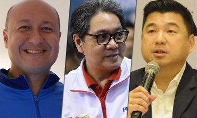 Tiebreaker Times Sports patrons Mascariñas, Lhuiller, Uy nominated for top executive award News  Ronald Mascarinas Phoenix Fuel Masters Jean Henri Lhuiller Dennis Uy Chooks-to-Go 2018 Asia CEO Awards