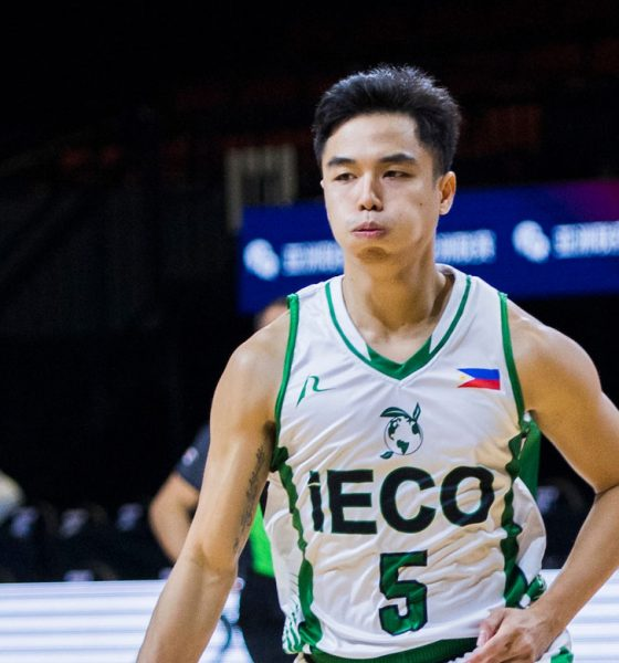 Tiebreaker Times Surreal feeling for Jai Reyes as he makes unexpected return to Asian-level competition Basketball News PBA D-League  Jai Reyes IECO Green Warriors 2018 Terrific 12 2018 Asia League