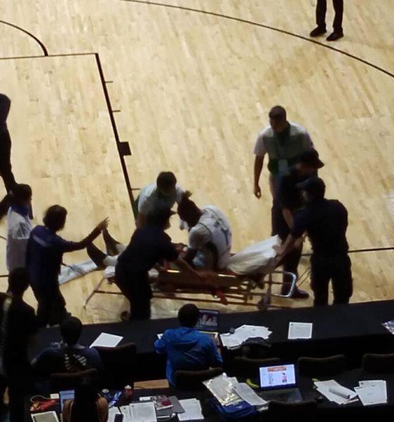 Tiebreaker Times Richard Howell doubtful versus Xinjiang after leg injury, says Ariel Vanguardia Basketball News  Richard Howell IECO Green Warriors Ariel Vanguardia 2018 Terrific 12 2018 Asia League