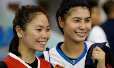 Tiebreaker Times Pablo sisters cross paths again on court after two years News PVL Volleyball  Pocari Sweat-Air Force Lady Warriors Petro Gazz Angels Myla Pablo Marites Pablo 2018 PVL Season 2018 PVL Open Conference