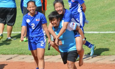 Tiebreaker Times Pinays miraculously clinch spot for second round of AFC U-16 Qualifiers Football News Philippine Malditas  Philippine Women's National U-16 Football Team Joyce Landagan 2019 AFC U-16 Women's Championship Qualifiers