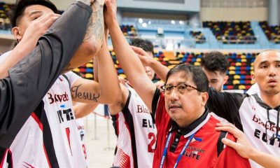 Tiebreaker Times Bong Ramos' advice to Terrific 12-bound iECO: 'Execute lang kahit talo' Basketball News  IECO Green Warriors Bong Ramos Blackwater Elite 2018 Terrific 12 2018 Summer Super 8 2018 Asia League