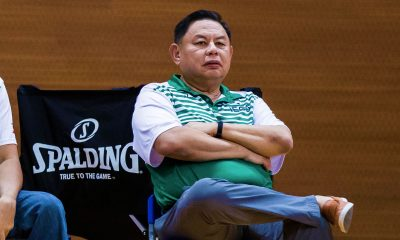 Tiebreaker Times Blackwater's Dioceldo Sy hopes PBA will include Asia League in calendar Basketball News PBA  IECO Green Warriors Dioceldo Sy Blackwater Elite 2018 Asia League