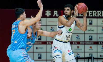 Tiebreaker Times iECO out of Terrific 12 as Ryukyu sweeps group stage Basketball News  Xinjiang Flying Tiger Ryuochi Hashimoto Ryuku Golden Kings Ryouma Hashimoto Josh Scott IECO Green Warriors Fan Ziming 2018 Terrific 12 2018 Asia League