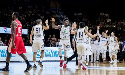 Tiebreaker Times Ryukyu bags inaugural Terrific 12 title; Ben Mbala's Seoul wins bronze Basketball News  Seoul Samsung Thunders Ryukyu Golden Kings Ryuichi Kishimoto Markeith Cummings Lee Gwan Hee Kyle Fogg Josh Scott Jeff Ayres Ira Brown Guangzhou Long Lions Ben Mbala 2018 Terrific 12 2018 Asia League