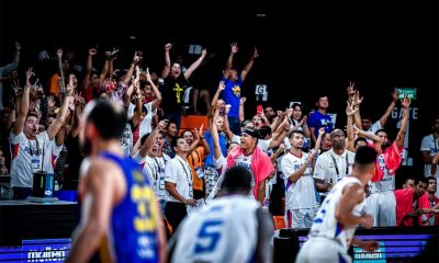 Tiebreaker Times Meralco romps Al-Riyadi with 33-point rout, advances to semis Basketball News  Norman Black Meralco Bolts KG Canaleta Garvo Lanete Diamond Stone Anjo Caram Allen Durham Al-Riyadi 2018 FIBA Asia Champions Cup