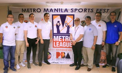 Tiebreaker Times PBA supports homegrown M-League Basketball News PBA M-League  Valenzuela Workhorses Taguig Generals Solid San Juan Quezon City Capitals Paranaque Green Berets Marikina Shoelanders Manila All-Stars Las Pinas Home Defenders Isang Pateros Eric Castro Caloocan Supremos Bonnie Tan 2018 M-League Season
