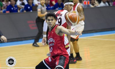 Tiebreaker Times Aljon Mariano steps up for injury-hit Ginebra Basketball News PBA  PBA Season 43 Joe Devance Barangay Ginebra San Miguel Aljon Mariano 2018 PBA Governors Cup