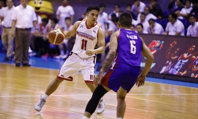 Tiebreaker Times With just one text, Jeric Fortuna finds himself back with his college coach Basketball News PBA  PBA Season 43 Northport Batang Pier Jeric Fortuna 2018 PBA Governors Cup