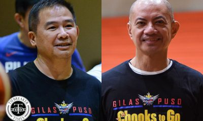 Tiebreaker Times MVP looking at 'revelation' Yeng Guiao as permanent Gilas head coach 2019 FIBA World Cup Qualifiers Basketball Gilas Pilipinas News  Yeng Guiao Manny V. Pangilinan Gilas Elite Chot Reyes 2019 FIBA World Cup Qualifiers