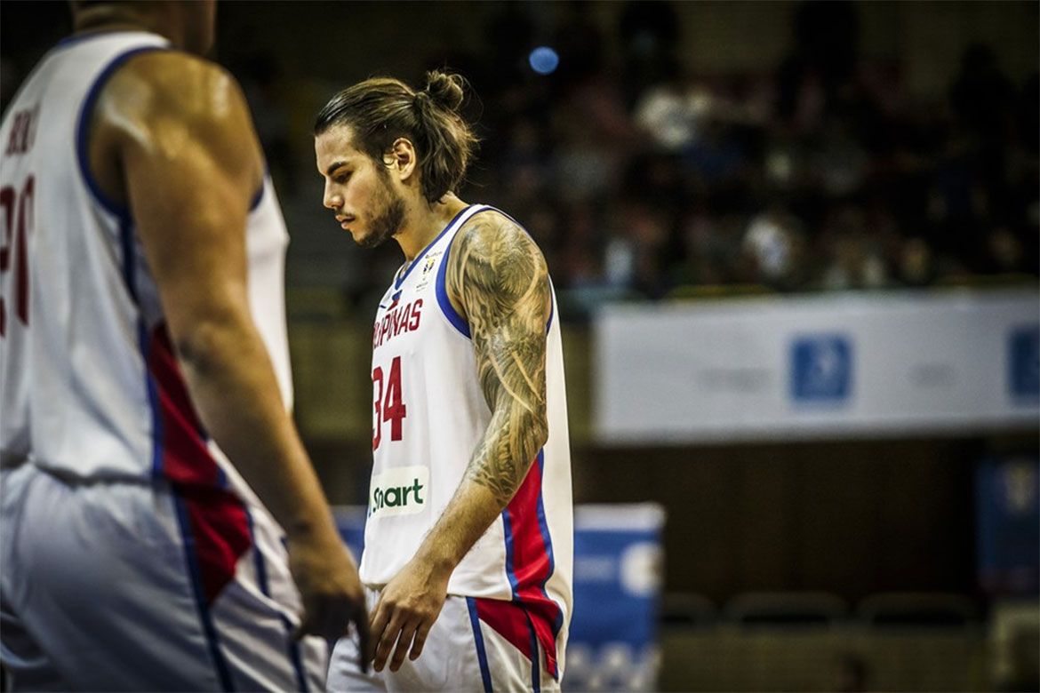 Tiebreaker Times Time and again, Christian Standhardinger shows valuable he is to Gilas 2019 FIBA World Cup Qualifiers Basketball Gilas Pilipinas News  Gilas Elite Christian Standhardinger 2019 FIBA World Cup Qualifiers