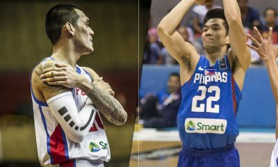 Tiebreaker Times Raymond Almazan, Allein Maliksi vow to be Gilas' loudest cheerleaders 2019 FIBA World Cup Qualifiers Basketball Gilas Pilipinas News  Raymond Almazan Gilas Elite Allein Maliksi 2019 FIBA World Cup Qualifiers