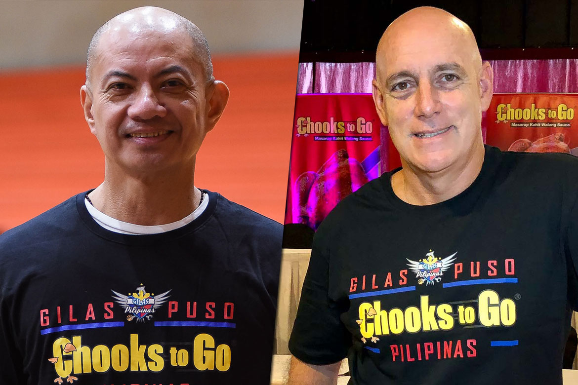 Tiebreaker Times Tab Baldwin praises Yeng Guiao's dedication: 'He's working hard with the time that he has' 2019 FIBA World Cup Qualifiers Basketball Gilas Pilipinas News  Yeng Guiao Tab Baldwin Gilas Elite 2019 FIBA World Cup Qualifiers