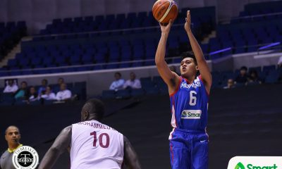 Tiebreaker Times Scottie Thompson brings energy as Gilas misses crowd 2019 FIBA World Cup Qualifiers Basketball Gilas Pilipinas News  Scottie Thompson Gilas Elite 2019 FIBA World Cup Qualifiers